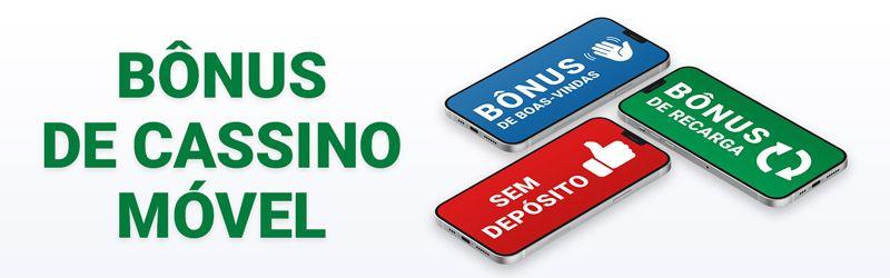 Bónus para Casinos em dispositivos móveis