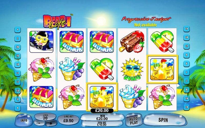Beach Life Slot Machine