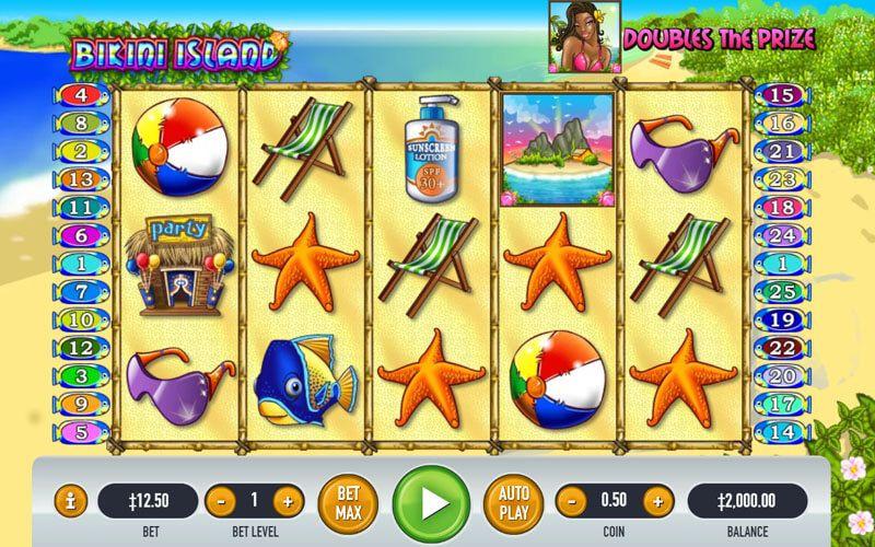 Bikini Island Slot Machine