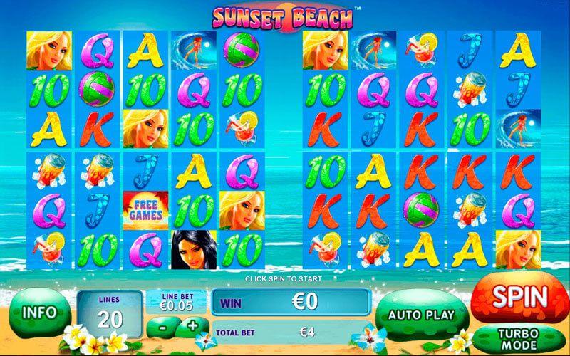 Sunset Beach Slot Machine