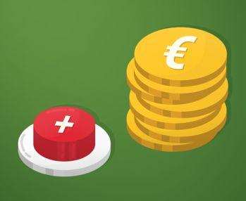 Não aumentar o valor das moedas ao máximo