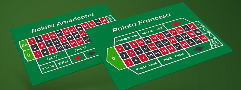 Diferenças entre Roleta Francesa e Roleta Americana
