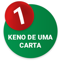 Online keno single-card