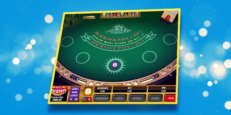 Atlantic city online blackjack
