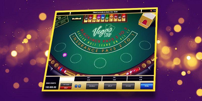 vegas strip online blackjack