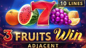 3 fruits win logo