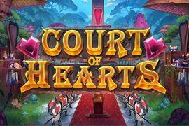 Court of Hearts, uma slot online da Play'n Go